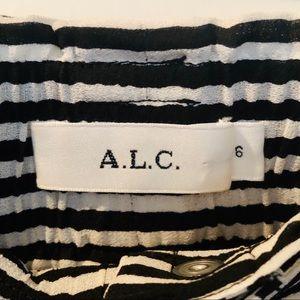 A.L.C. Skirts - A.L.C. Divya Stripe Midi Skirt